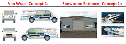 marine signs and vehicle wraps