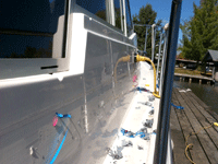 Boat Striping Using Vinyl Pinstriping