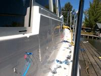 Boat Striping Using Vinyl Pinstriping
